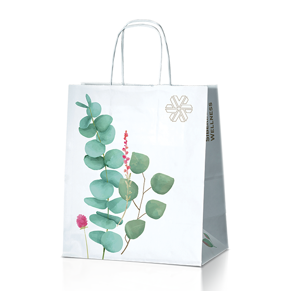 Пакет подарочный (большой) Siberian Wellness