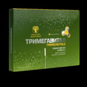 Сибирский лен и омега-3 - Тримегавитал
