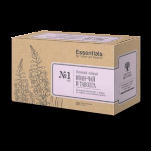Фиточай Иван-чай и таволга - ESSENTIALS by Siberian Health