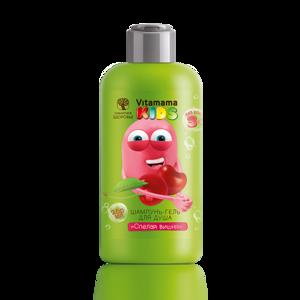 Шампунь-гель для душа «Спелая вишня» - Vitamama KIDS