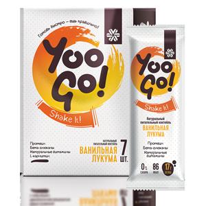 Питательный коктейль Ванильная лукума - Yoo Gо