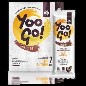 Питательный коктейль Сыр-Грибы - Yoo Gо