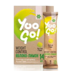 Напиток Weight Control (яблоко-лимон) - Yoo Go