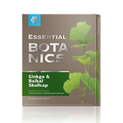 Гинкго билоба и байкальский шлемник - Essential Botanics