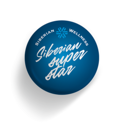 Значок Siberian Super Star