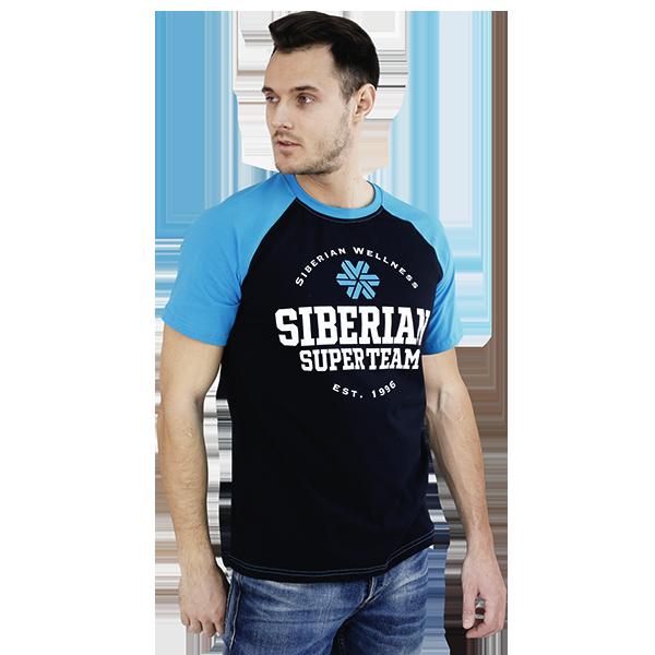 Футболка мужская (размер: L) Siberian Super Team