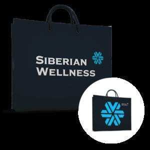 Пакет бумажный Siberian Wellness