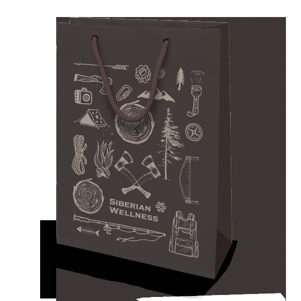 Пакет подарочный Siberian Wellness