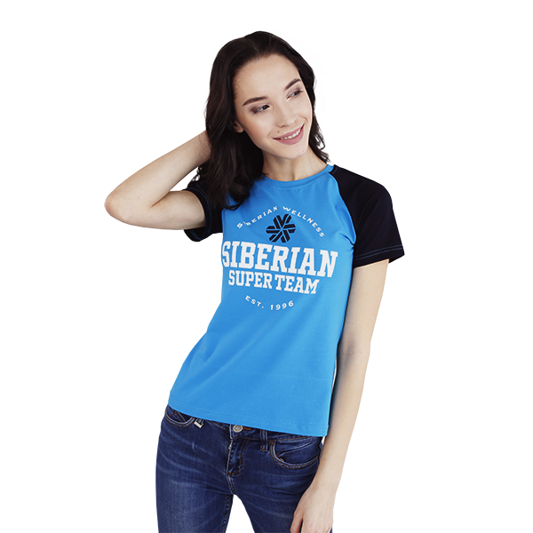 Футболка женская (размер: S) Siberian Super Team