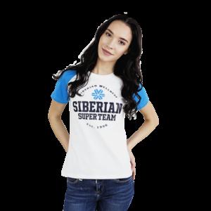 Футболка женская (размер: XS) Siberian Super Team