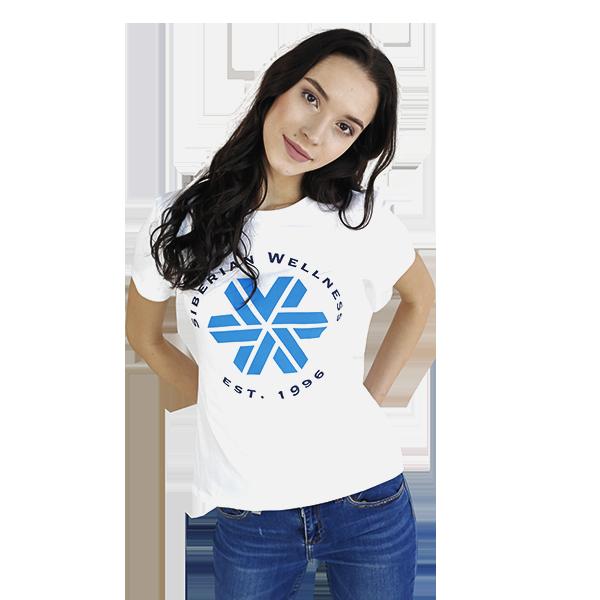 Футболка женская (размер: XS) Siberian Wellness