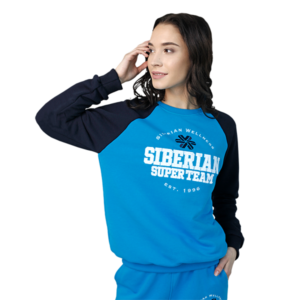 Свитшот женский (размер: M) Siberian Super Team