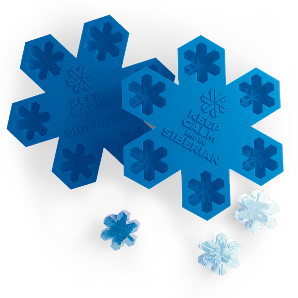 Формочки для льда Siberian Wellness