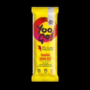 Батончик Banana Mama (вишня-банан) Yoo Gо