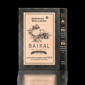 Фиточай из диких трав № 9 (Углеводный контроль) Baikal Tea Collection