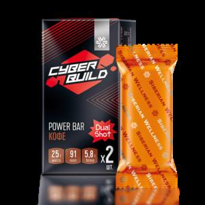 Dual Shot (кофе), батончик энергетический Cyber Build