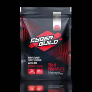 Red Blast (яблоко-гранат), мармелад энергетический Cyber Build