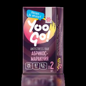 Antistress-батончик (абрикос-маракуйя) Yoo Gо