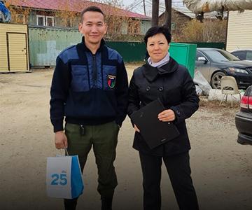 Подарочные наборы Siberian Wellness вручены пожарным Якутии 11 октября 2021
