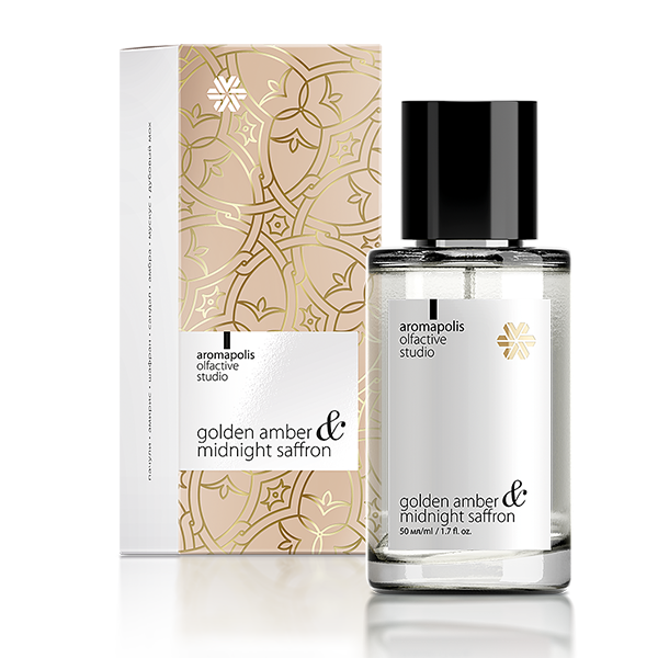 Golden Amber & Midnight Saffron, парфюмерная вода Aromapolis Olfactive Studio