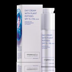 Дневной крем с растительными пептидами Experalta Platinum