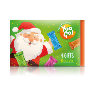 4 Gifts, набор батончиков Yoo Go