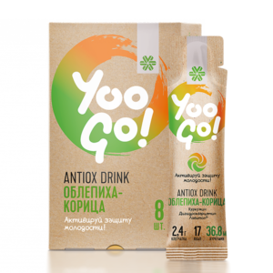 Напиток Antiox Drink «Облепиха-корица» Yoo Gо