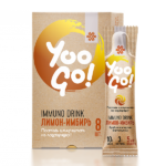 Напиток Immuno Drink (Защита иммунитета) «Лимон-имбирь» Yoo Gо